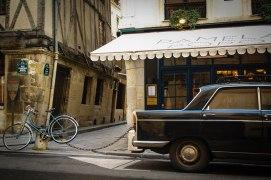 vintage car vignette