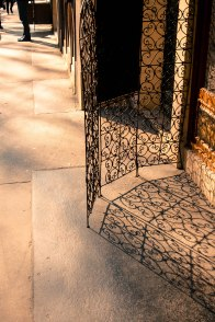 reflected ironwork